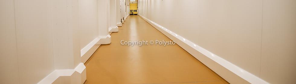 Hygienischer Wandschutz